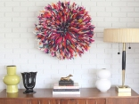Colorful-Juju-Hat-Entryway-Table