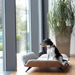 Un canapé lit luxe pour chien Letto Mocca, Dog&Cat Design