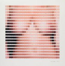 Afraid+of+a+Lady+2016+Collage+on+paper+H70cm+x+W70cm