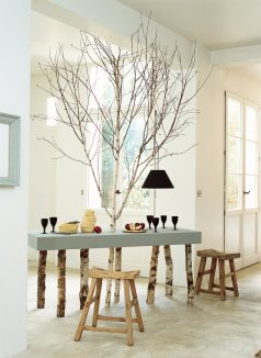 table-bois-branches-planches