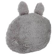Coussin doux gris avec oreilles 5€