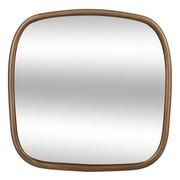 Miroir carré doré en bois 35x35 12€