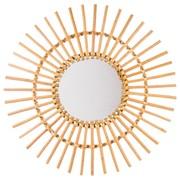 Miroir soleil en rotin D58 25€