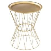table à café gold en métal 20€