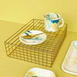 vaisselle-marble-jaune-bornn-enamelware_2